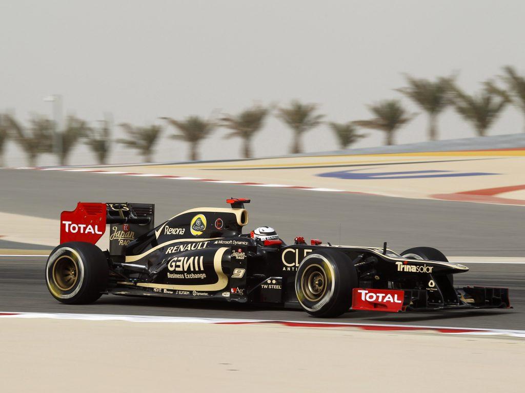 Болид Lotus-Renault 2012 года