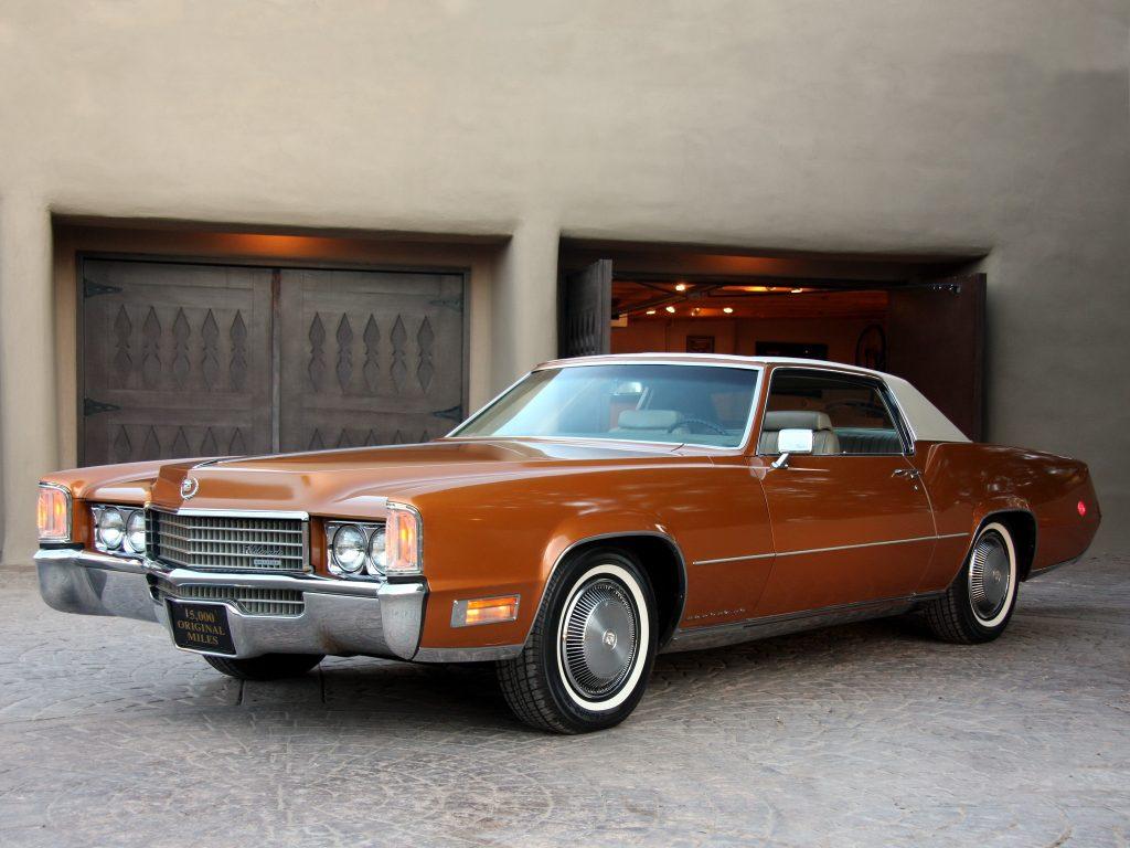 В 1970 году Cadillac Eldorado оснастили огромным 8,2-литровым мотором