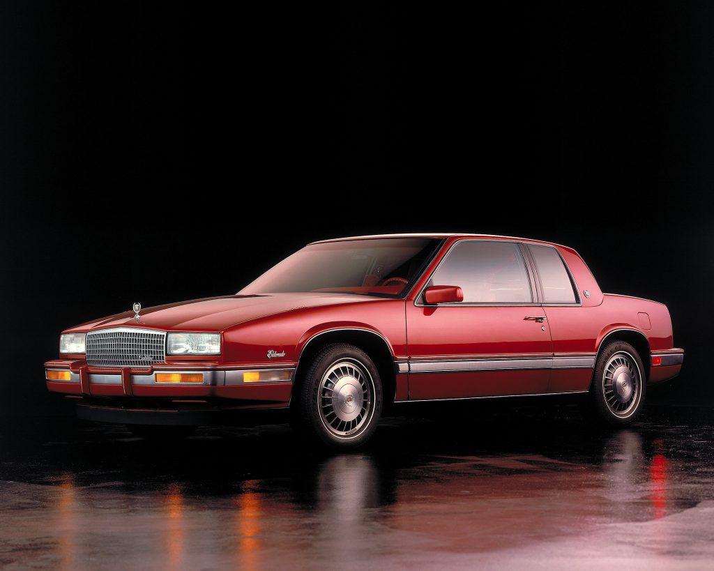 В 1986 году Cadillac Eldorado стал компактнее