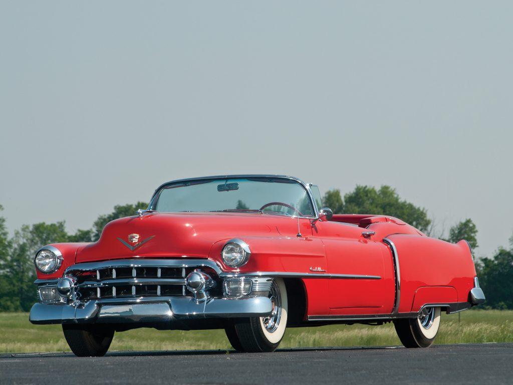 Первый Cadillac Eldorado 1953 года создали к 50-летию марки