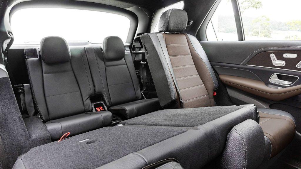 Mercedes-Benz GLE, задние сиденья