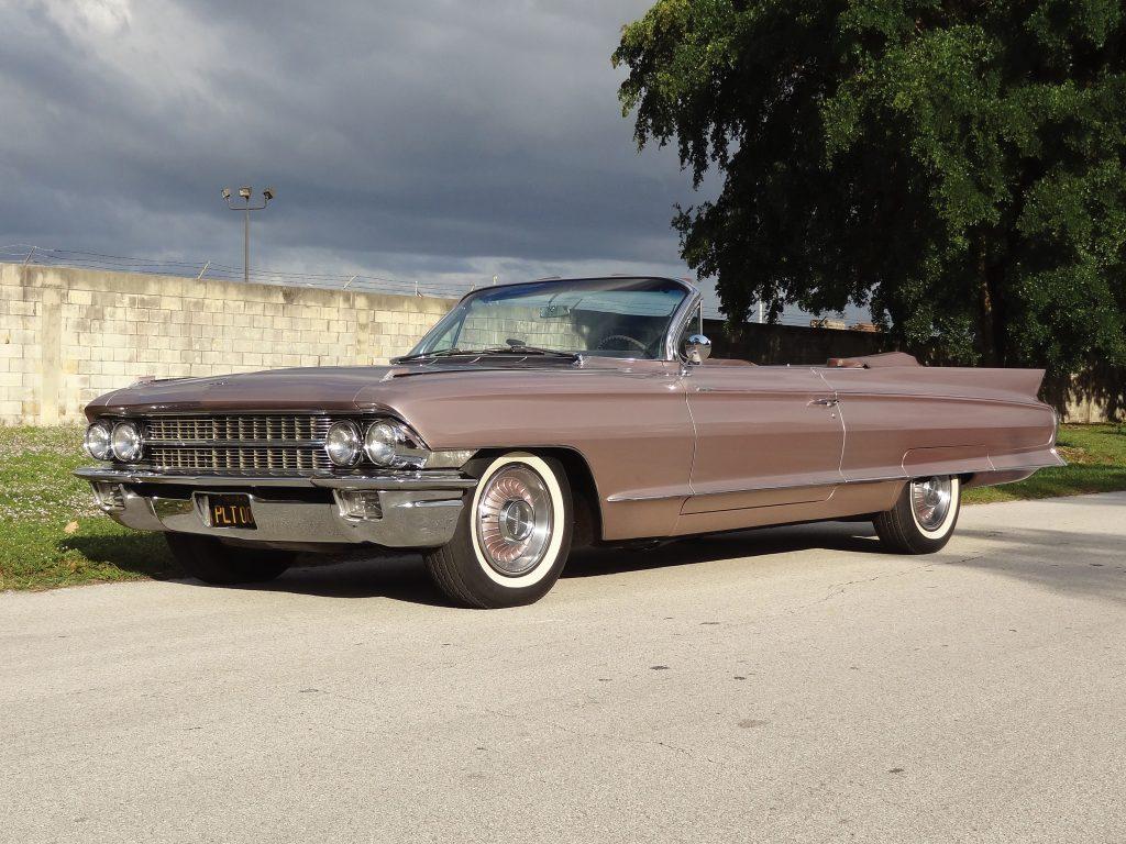 Cadillac Eldorado начала 60-х обозначил переход к граненному стилю