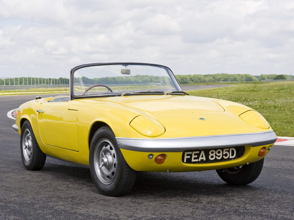 Lotus Elan 1962 года