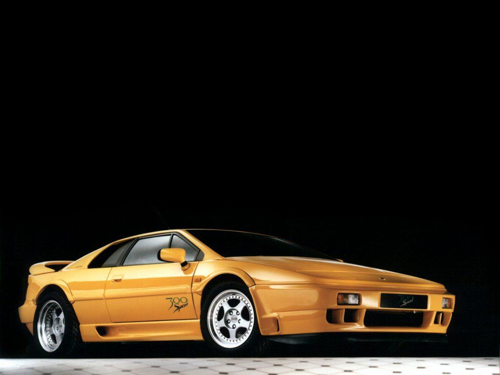 Lotus Esprit второго поколения появился в 1989 году