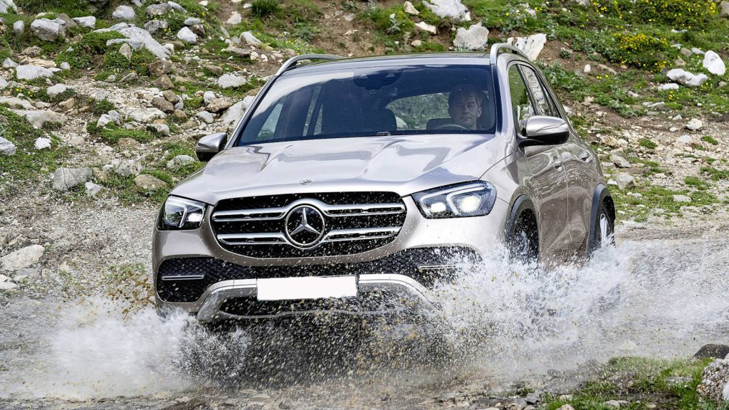 Mercedes-Benz GLE 2019, вид спереди