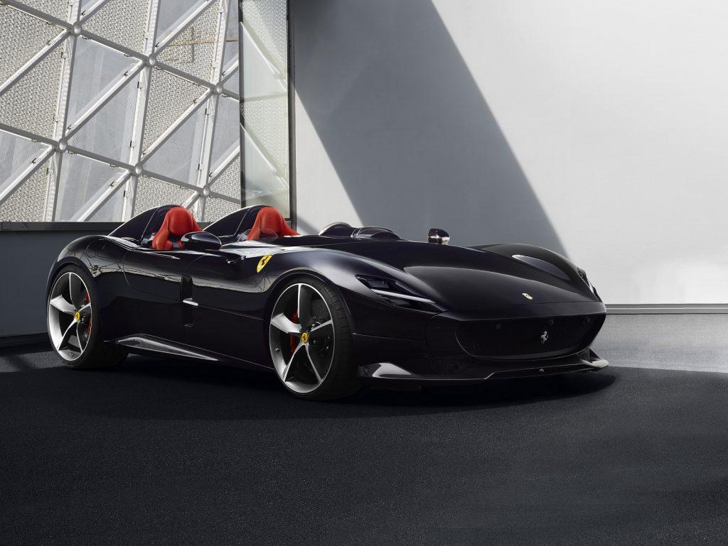 Ferrari Monza 2019, вид спереди