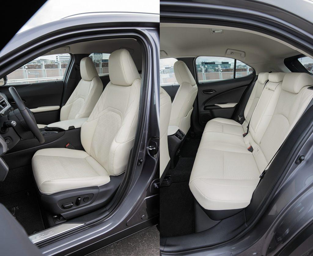 Новый Lexus UX, сиденья