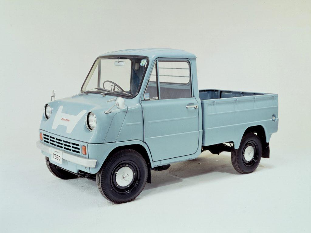 Первенец Honda T360 1963 года