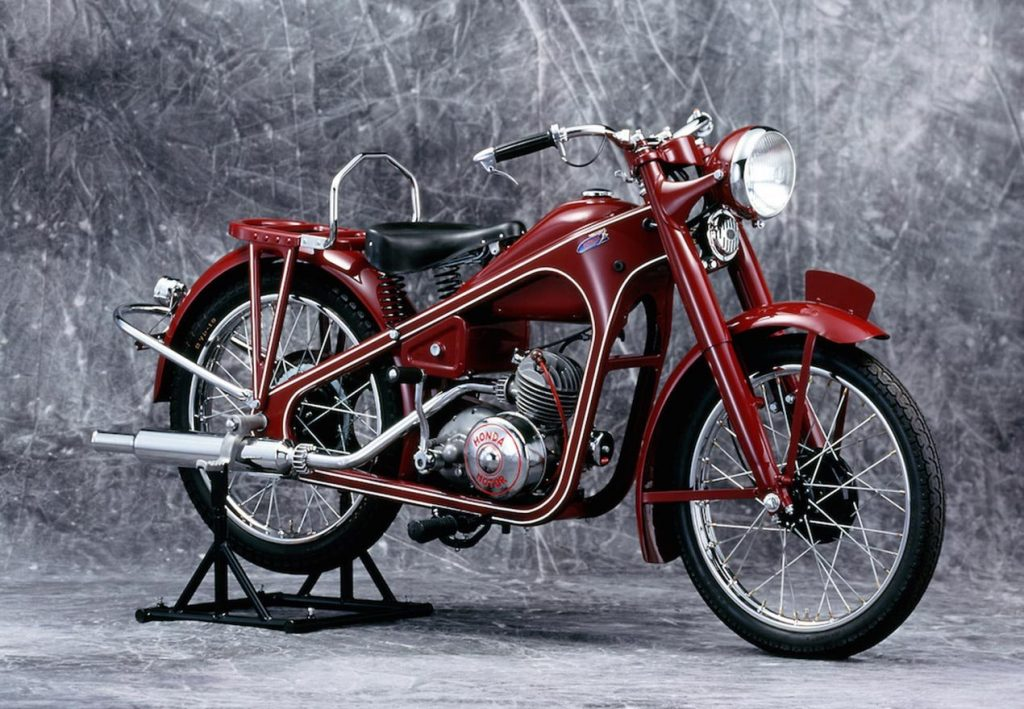 Первый мотоцикл Honda Dream 1949 года
