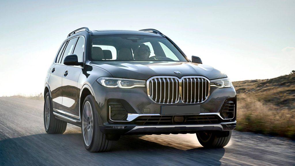 BMW X7 2019, вид спереди
