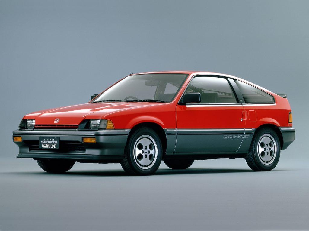 Honda CRX, 1984 год