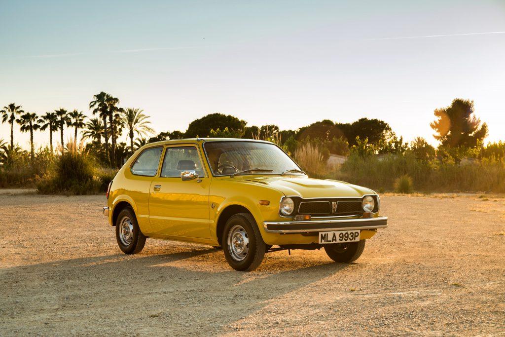 Honda Civic 1972 года принес успех на мировом рынке
