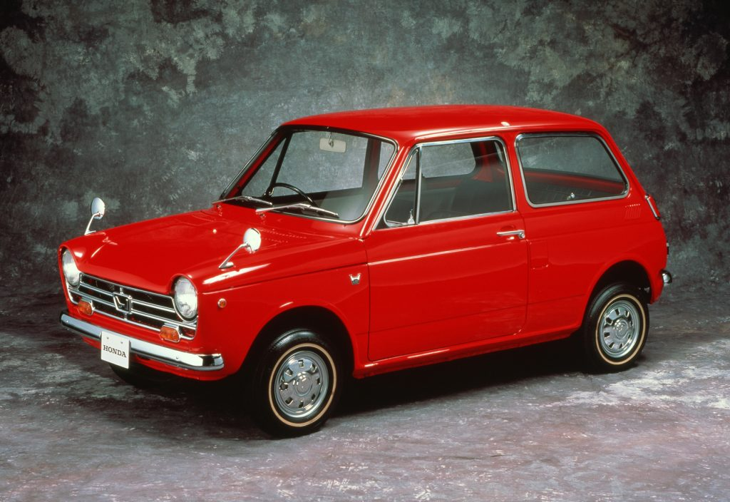 Honda N360 1967 года