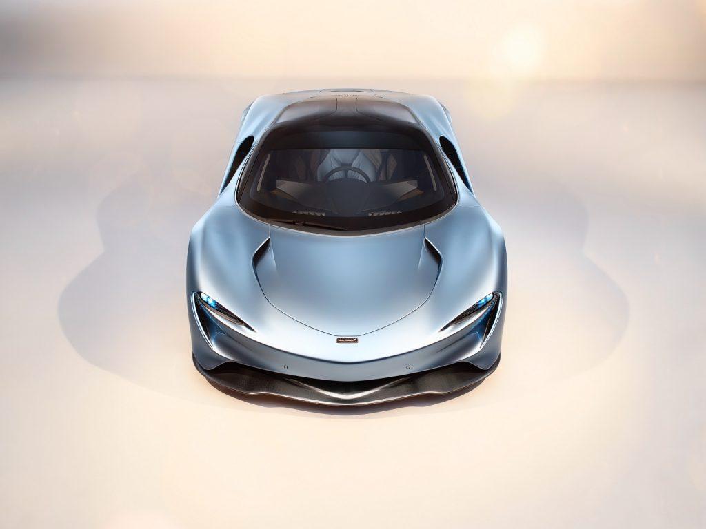 McLaren Speedtail 2019, вид спереди