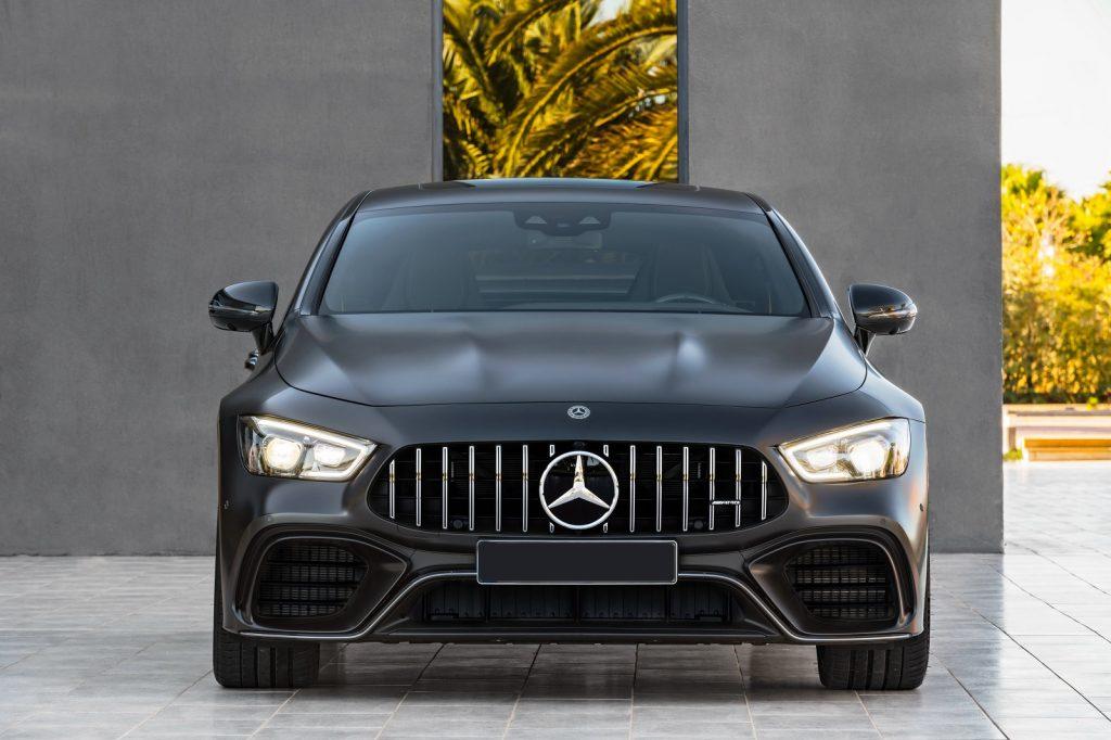 Mercedes-AMG GT 4-Door 2018, вид спереди