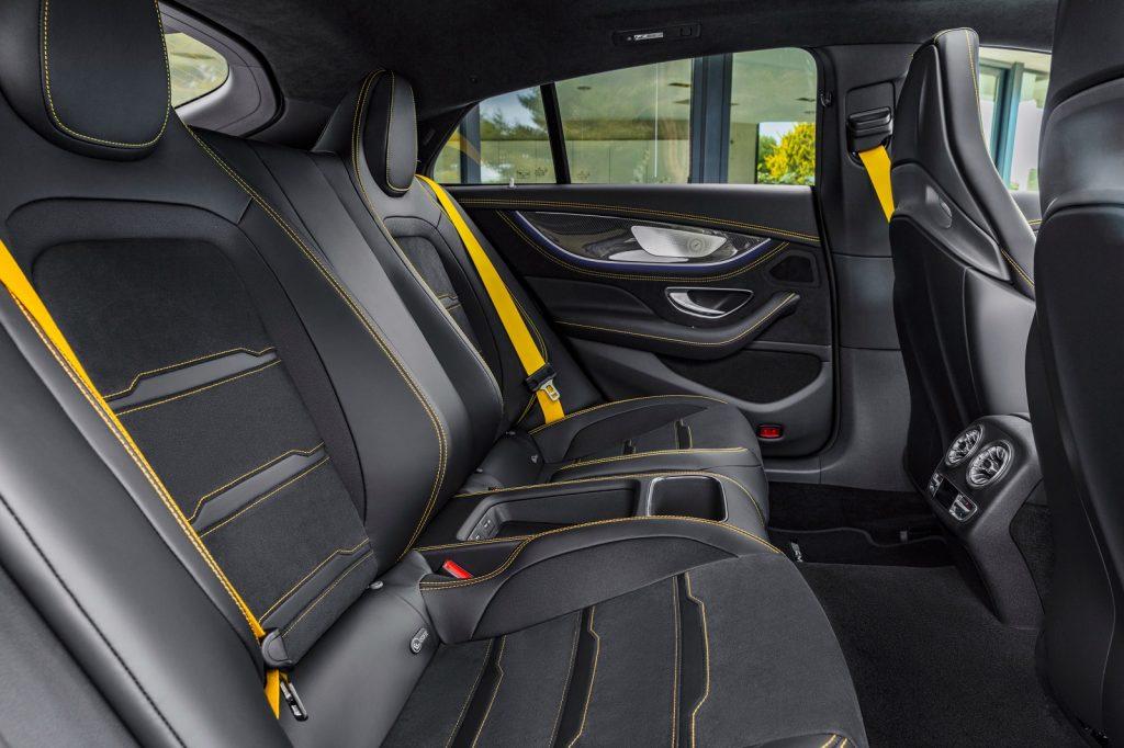Mercedes-AMG GT 4-Door 2018, задние сиденья