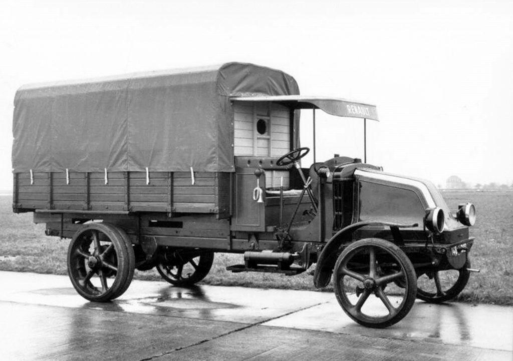 Полноприводной грузовик Renault, 1916 год