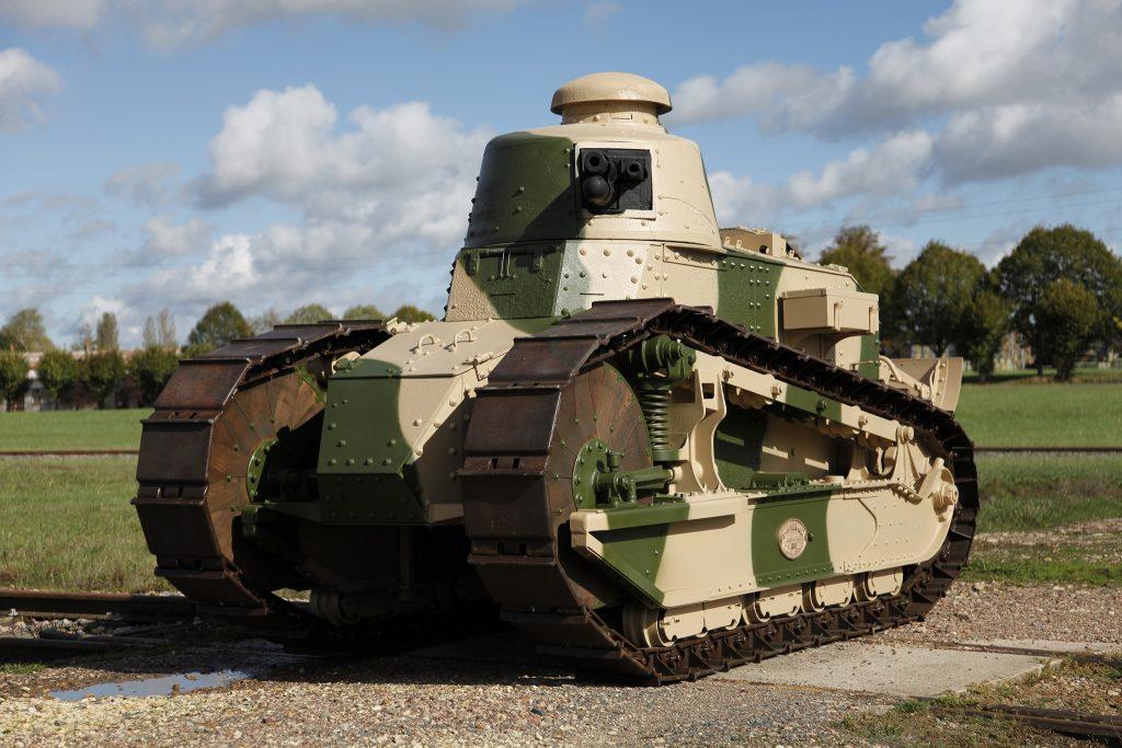 Танк Renault FT 1917 года