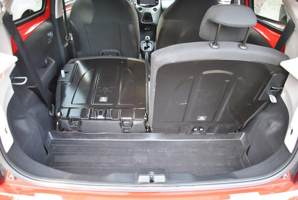 Новый Citroen C1, багажник