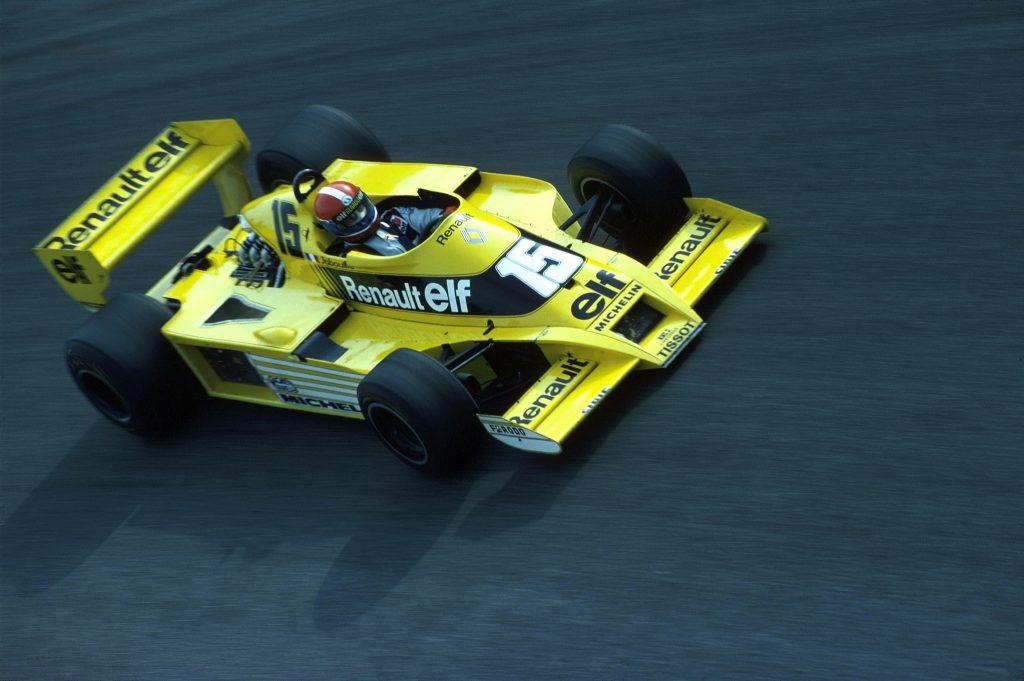 Renault - пионеры турбонаддува в Формуле-1