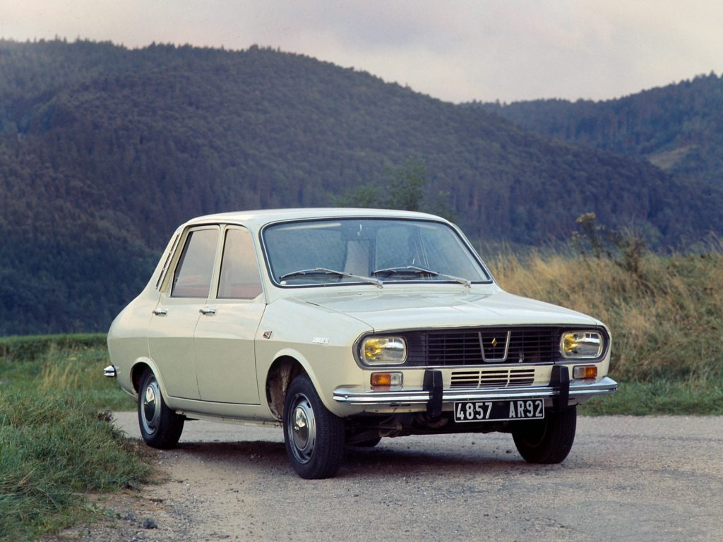 Renault 12, 1969 год