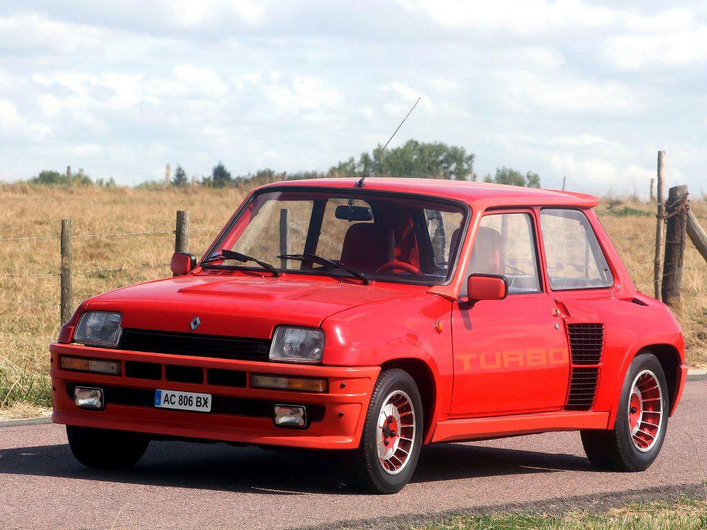 Renault 5 Turbo 1980 года