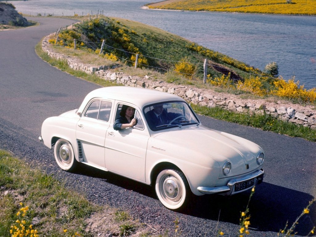 Renault Dauphine 1956 года
