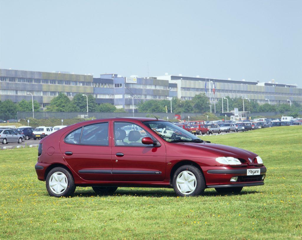 Renault Megane 1995 года