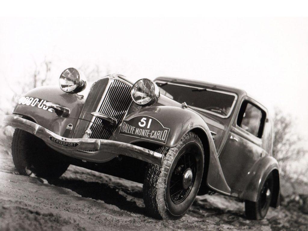Renault Nervasort выиграл ралли Монте-Карло в 1935 году