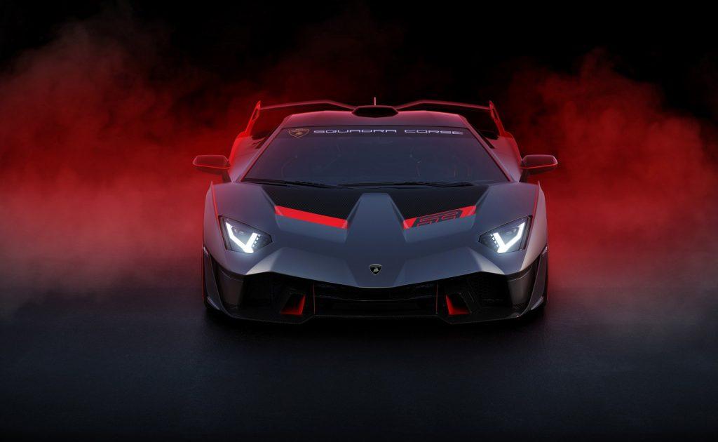Lamborghini SC18, вид спереди