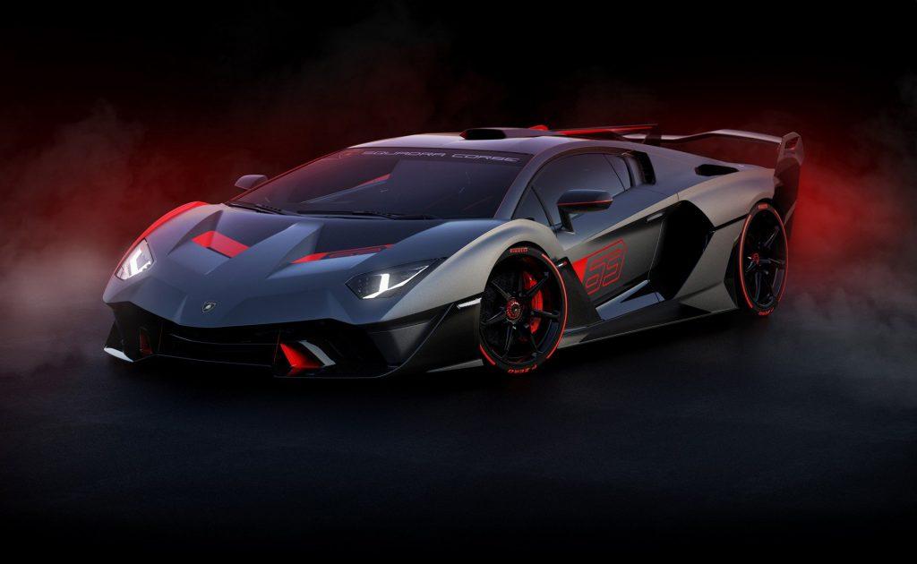 Lamborghini SC18, вид на переднюю диагональ