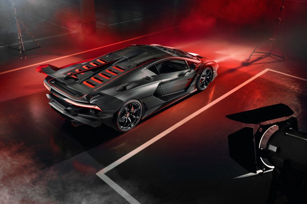 Новый Lamborghini SC18, вид сверху
