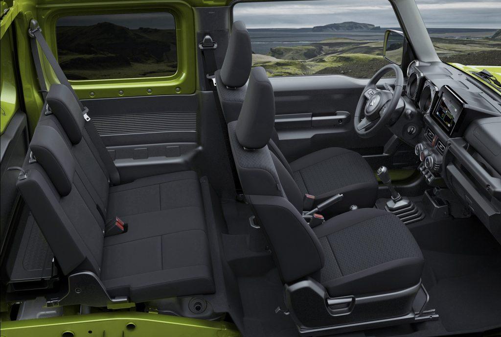 Новый Suzuki Jimny, салон