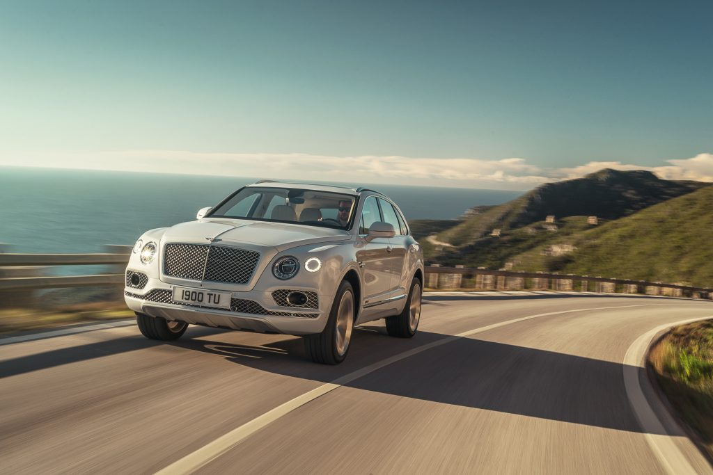 Гибрид Bentley Bentayga, 2018 год