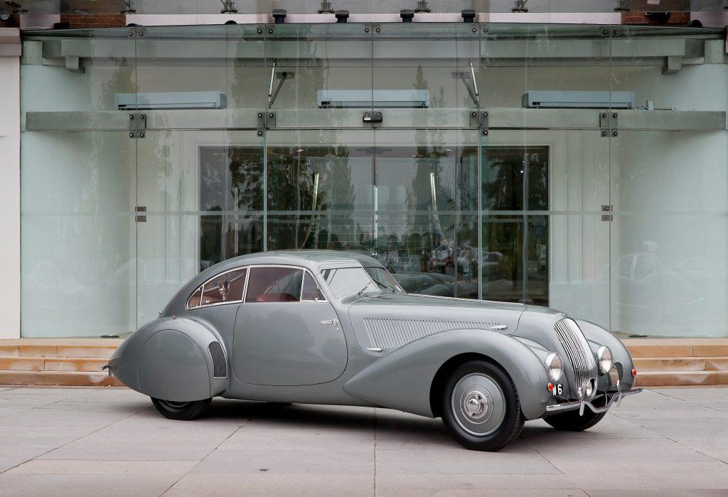 Обтекаемое купе Bentley 4 ¼ Litre Андрэ Эмбирикоса