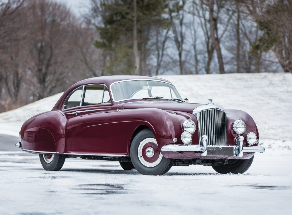 Bentley R-Type Continental 1952 года