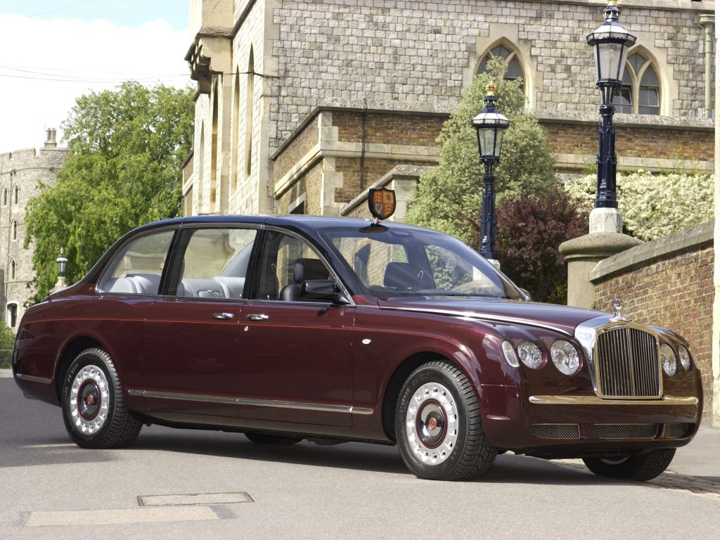Bentley State Limousine Елизаветы ІІ