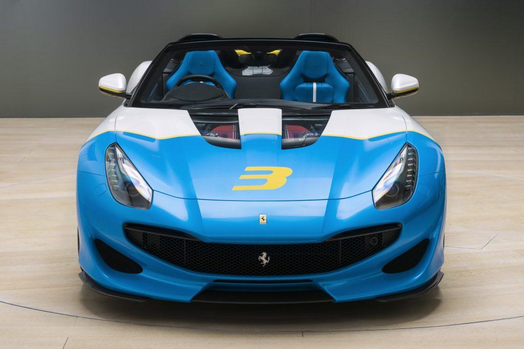 Ferrari SP3JC 2018, вид спереди