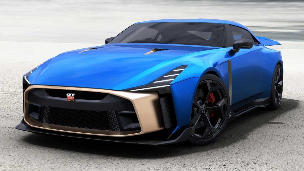 Nissan GT-R50 2019, вид спереди