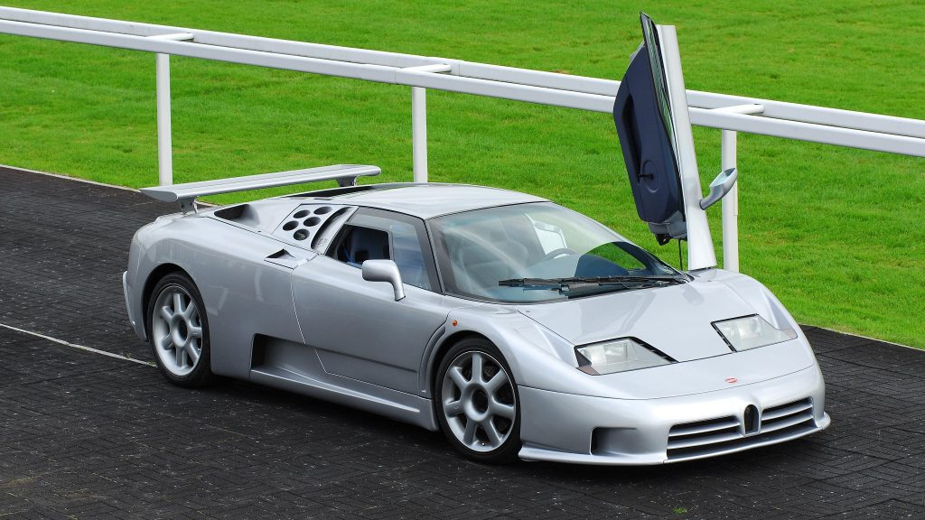Bugatti EB110 SS 1993 года