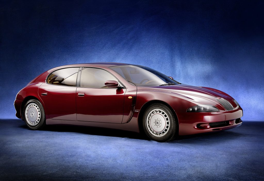 Bugatti EB112 1993 года