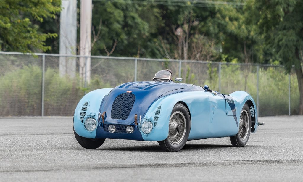 Bugatti Type 57G - двукратный победитель Ле-Мана