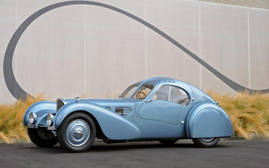 Bugatti Type 57SC Atlantiс 1936 года