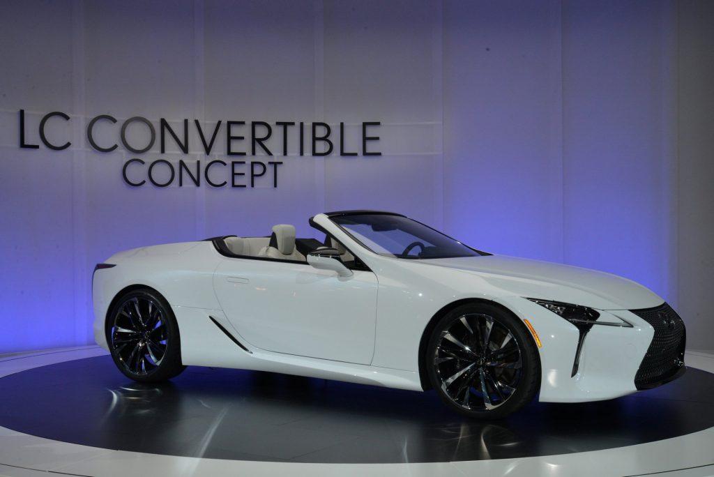 Lexus LC Converible