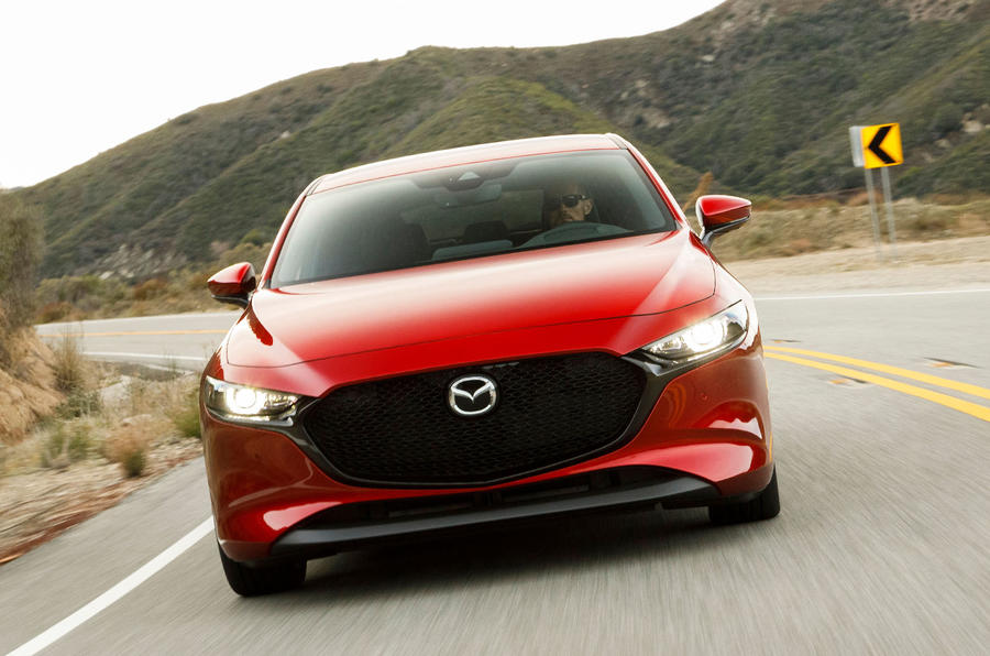 Mazda 3 2019, вид спереди