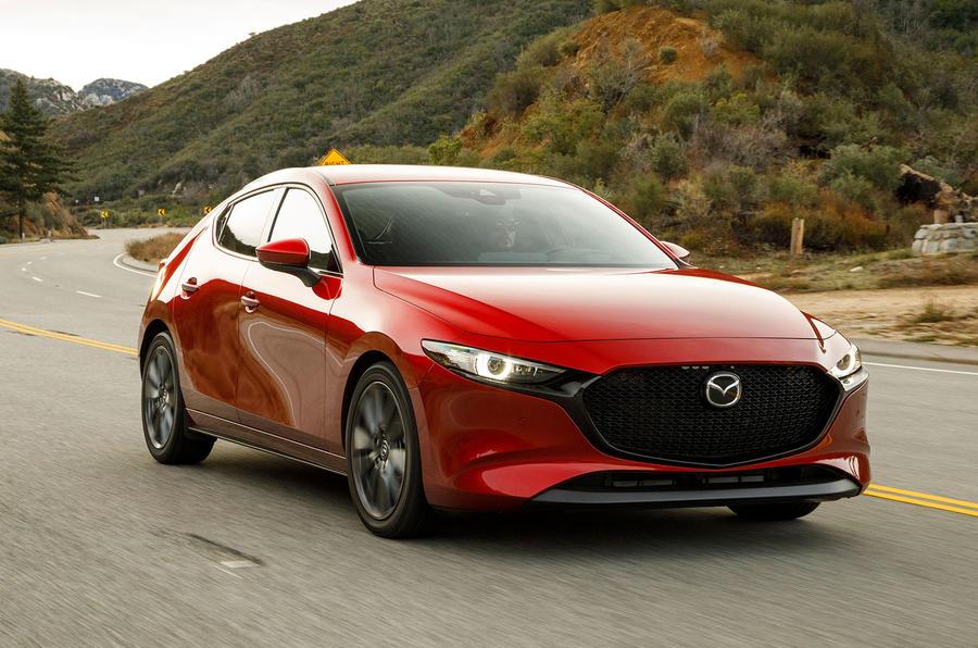 Mazda3, вид на переднюю диагональ