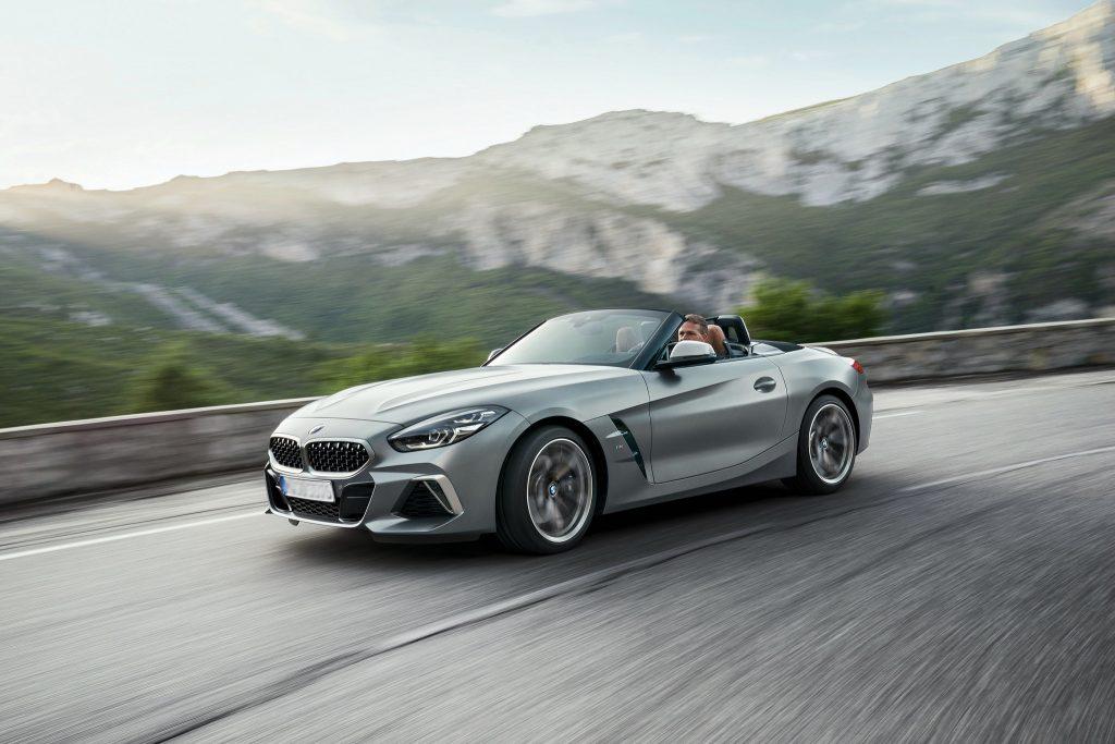 BMW Z4, вид на переднюю диагональ