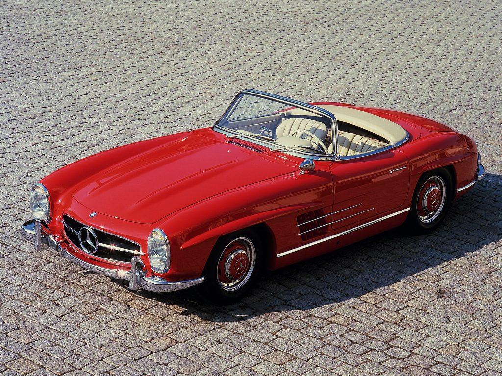 Кабриолет Mercedes-Benz 300 SL Roadster сменил купе в 1957 году
