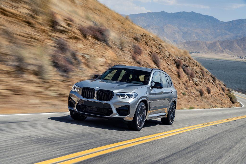BMW X3 M 2019, вид спереди