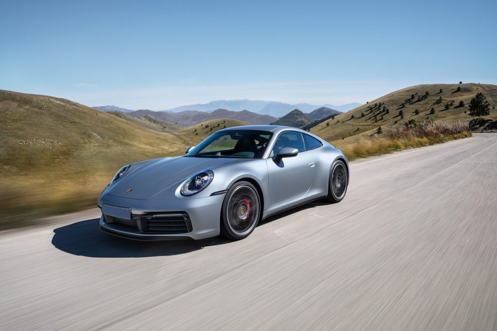 Porsche 91, вид на переднюю диагональ